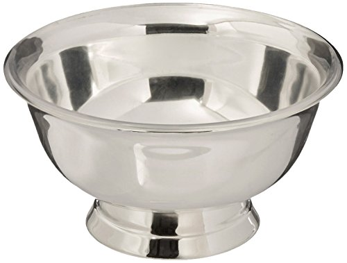Elegance Silver 82574 Silver Plated Revere Bowl with Liner, 4