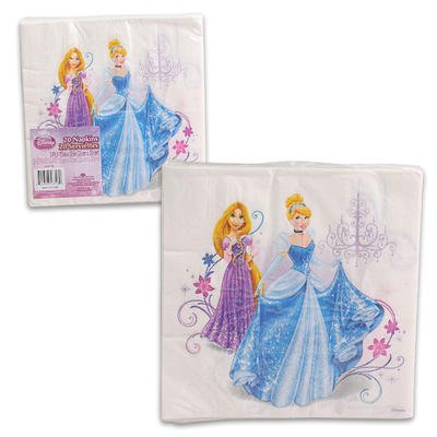 Disney Princess Lunch Napkins 20 Count