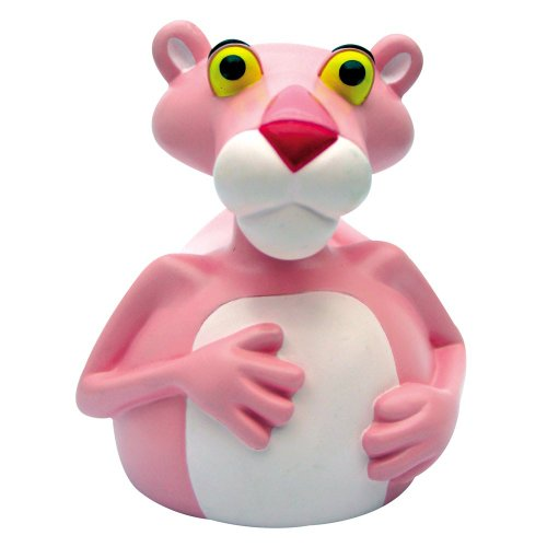 CelebriDucks The Pink Panther RUBBER DUCK Bath Toy