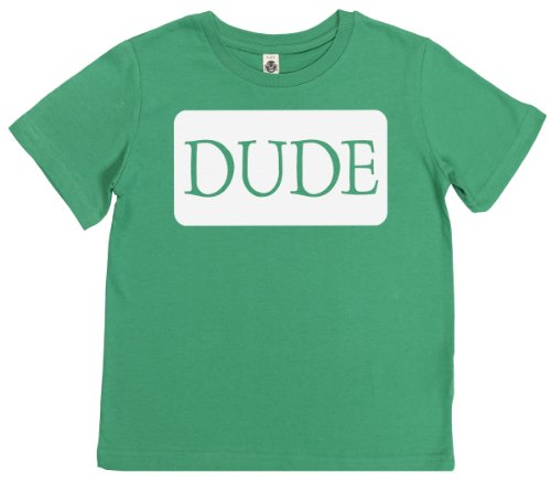 Phunky Buddha - Dude Kid'S Unisex T-Shirt 7-8 Yrs - Green front-593458