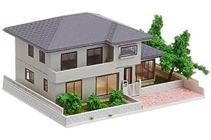 Nゲージ 23-403B 庭のある家1 (グレー)