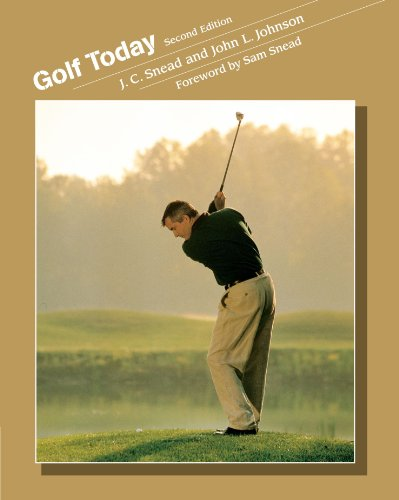 Golf Today (Wadsworth's Physical Education Series)