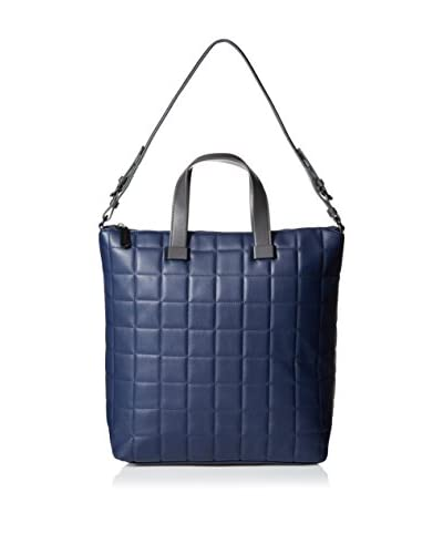 Steve Madden Women's Bree Quilted Tote, Navy