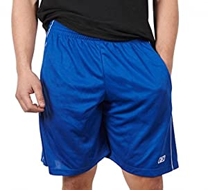 Reebok Men's Performance Basketball Shorts with Pockets (X-Large, Royal Blue)