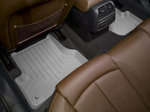 WeatherTech Custom Fit Rear FloorLiner for Select Toyota Venza Models (Grey)