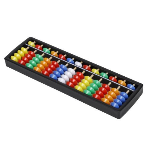 Sealike Portable Plastic Abacus Arithmetic Soroban with Colorful Beads for Kid Toddlers and a Stylus - 1