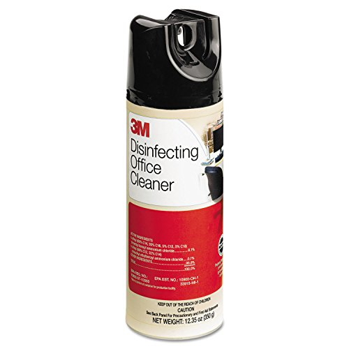 3M Disinfecting Office Cleaner, 12.35 Oz. Can