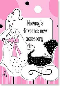Working Girls - New Accessory - Baby Card