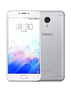 Meizu M3 note - Smartphone con pantalla de 5.5 (procesador Octacore Helio P10, 2GB RAM, 16GB), color plata