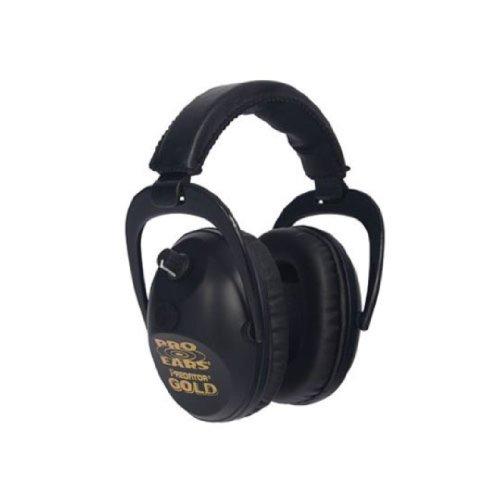 Pro Ears Predator Gold Nrr 26 Ear Muffs (Black)