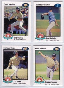 1998 Arizona Fall League San Diego Padres 1 Card Team Set Ben Davis Mint by Other