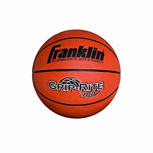 Franklin Sports Grip-Rite 100 Basketball (Intermediate B6)