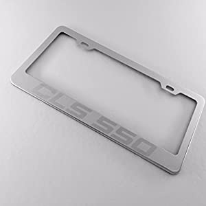 Share facebook twitter pinterest qty 1 2 3 4 5 6 7 for Mercedes benz stainless steel license plate frame