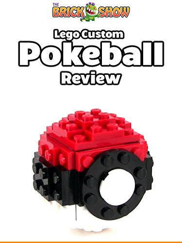 Custom LEGO Pokemon GO Pokeball