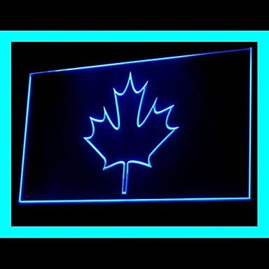 Canada Leaf Advertising Led Light Sign