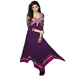 StarMart Womens Georgette Unstitched Dress Material-32008
