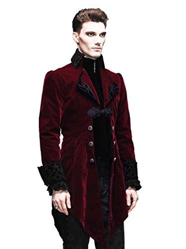 Cyber Punk Clothes – Gothic Punk Jacket Renaissance Costume