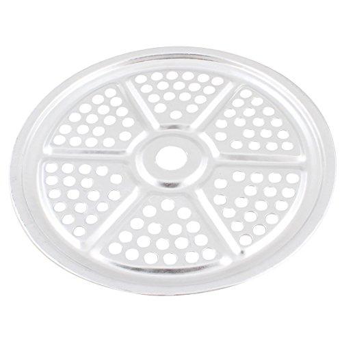 Aluminum Round Steamer rack de cuisine 8,3 pouces Dia ton argent