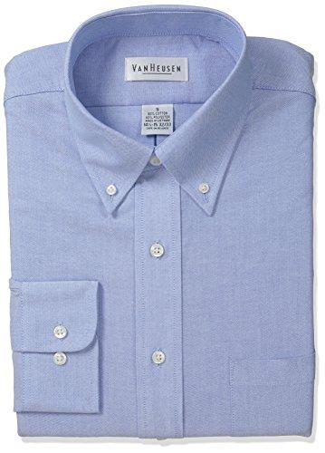 Van-Heusen-Mens-Long-Sleeve-Oxford-Dress-Shirt