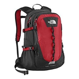 The North Face Hot Shot TNF Red/Asphalt Grey - The North Face Laptop Backpacks