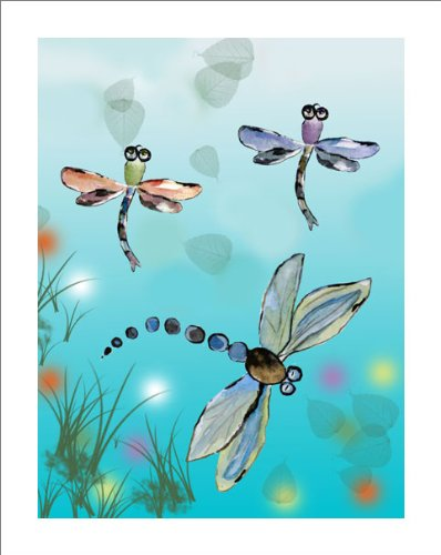 Dragonfly Nursery Wall Decor : Nursery decor dragonfly wall baby art