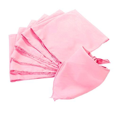 Light Pink Bandannas (1 dz)