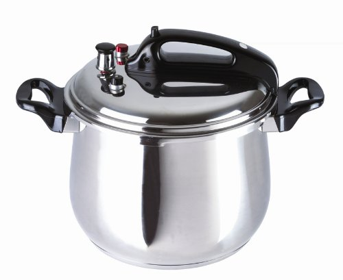 Bc Classics Bc-33870 Stainless Steel Pressure Cooker, 9.5-Quart front-157727
