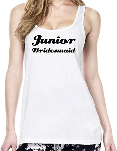Junior Bridesmaid Funny Slogan Tunica delle donne Large