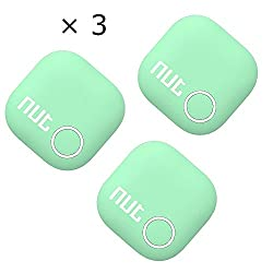 TaoFilm Pro Smart Tag Nut 2 Bluetooth Two-Way Anti Lost Tracker Tracking Wallet Key Tracer Finder Alarm Patch GPS Locator Finder for iOS | iPhone | iPod | iPad | Android (Green 3 in 1)