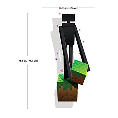 Minecraft Enderman Wall Decal/Cling