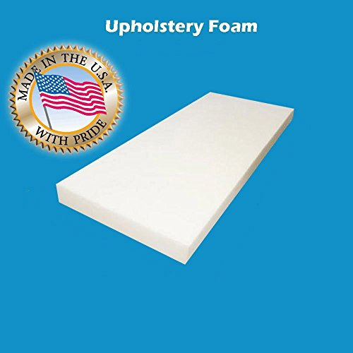 Lowest Price! 2 x 24x 72Upholstery Foam Cushion High Density (Seat Replacement , Upholstery Sheet...