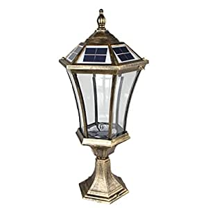 large outdoor solar powered led light lamp bo18