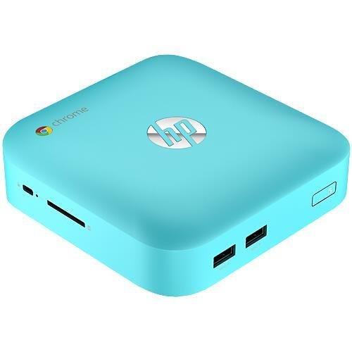 Hp Chromebox Cb1-016 Desktop Computer - Intel Celeron 1.40 Ghz - Mini Pc - Ocean Turquoise - 2 Gb Ram - 16 Gb Ssd - Intel Hd Graphics - Chrome Os - Wireless Lan - Bluetooth J0K10Ua#Aba (Hpj0K10Ua#Aba )