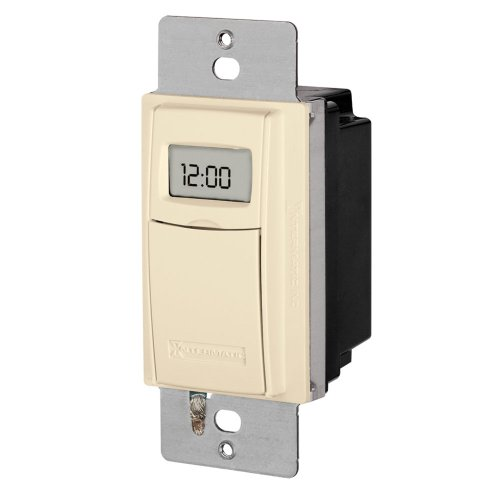 Intermatic St01A Heavy Duty In-Wall Timer With Astronomic Feature, Almond
