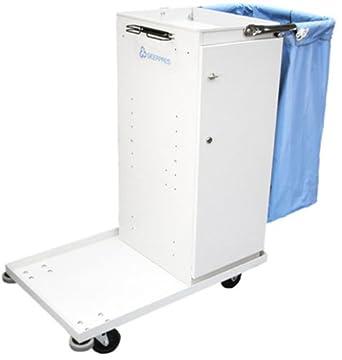 """Geerpres 3645 Escort Maid's Cart with Locking Door, 32-1/2"""" Length x"""