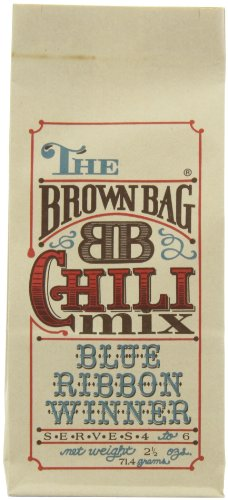 Brown Bag Dry Chili Mix, 2.5-Ounce (Pack of 6) (Chili Dry compare prices)