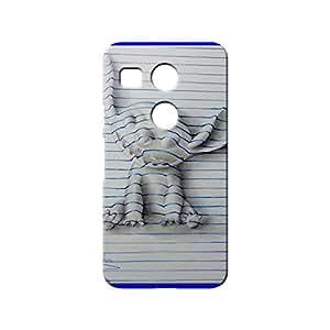 BLUEDIO Designer 3D Printed Back case cover for LG Nexus 5X - G7588