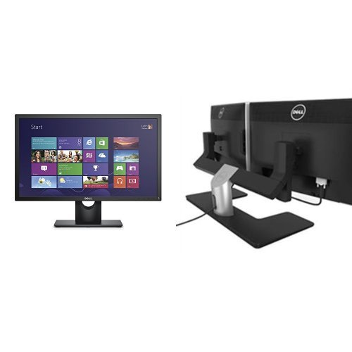 two-dell-e2316hr-23-monitors-bundle-with-one-dell-mds14-dual-monitor-stand