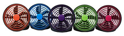 O2 Cool 5 Inch Battery Or Usb Operated Portable Fan
