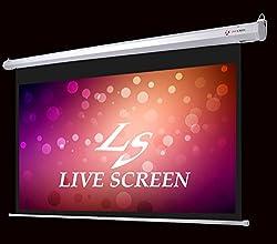 LIVE SCREEN 16:9 120インチ 電動格納 プロジェクタースクリーン