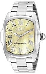 Invicta Men's 19795 Lupah Special Edition Stainless Steel X-Large Heavy Watch
