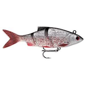 Storm live kickin 39 shad bait 5 inch black for Amazon fishing lures