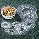 Set of 50 Clear Bowl Covers