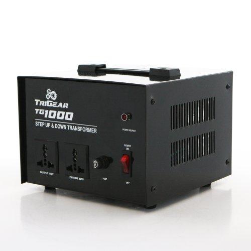 TriGear TG 1000W 1000 Watt Step Up Down Voltage Transformer Converter AC 110 / 220 V or 110 / 220 Volt