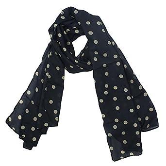 niceeshop(TM) Fashion Charming Beautiful Warm Beige Polka Dot Scarf Wrap Women Lady Girl Shawl-Black