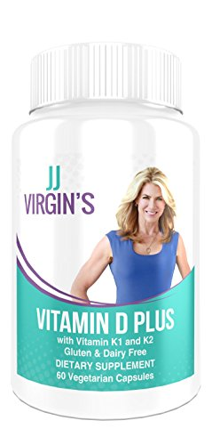 JJ Virgin Vitamin D Plus 60 Vegetarian Capsules | 5000 IU Gluten Dairy Soy Free! (Vitamin D Eczema compare prices)