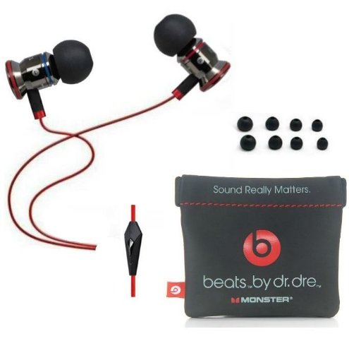 Beats By Dr Dre Monster Ibeats In-Ear Headphones W/ Control Talk - Black
