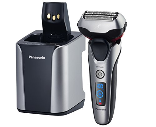 Panasonic ES-LT7N-S Arc 3-Blade Electric Shaver System with Premium Automatic Clean and Charge Station, Active Shave Sensor Technology, Wet or Dry Operation (Arc Blade compare prices)