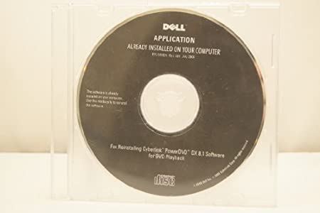 Dell Application Reinstalling Cyberlink PowerDVD DX 8.1 Software for DVD Playback Year: July 2008 Part Number: P/N M102H Rev. A01 Computer Software Driver Installation Disc Computer Software Program Install
