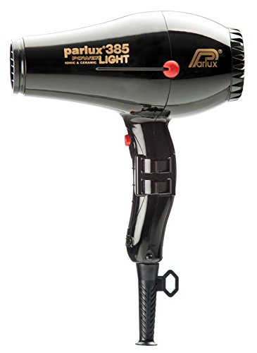 Parlux 385 Powerlight Professional Ionic and Ceramic Hair Dryer Black (Hair Dryer Parlux 385 compare prices)